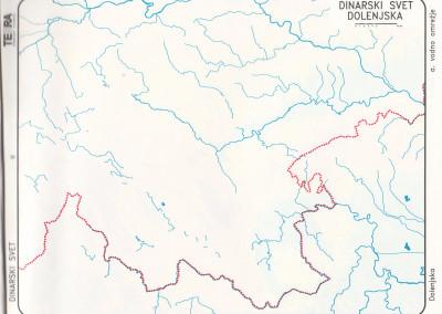 Dinarske pokrajine-vzhodni del-vode