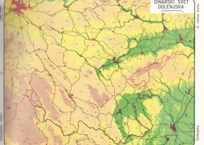 Dinarske pokrajine-vzhodni del-vse