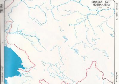 Dinarske pokrajine-zahodni del-vode