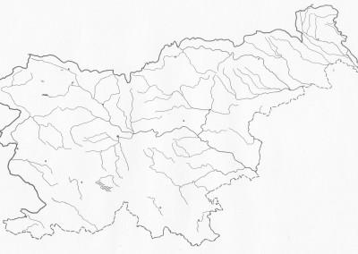 Afrika Nema Karta Reke.Zemljevidi Dugs