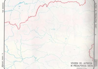 Vzhodni del Alpskih in Predalpskih pokrajin-vodovje