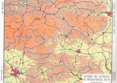 Vzhodni del Alpskih in Predalpskih pokrajin-vse